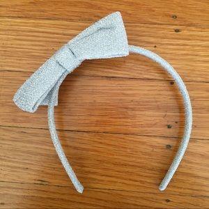 3 for $24 Silver kids headband